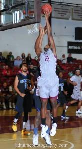 Ryan Wright dunk