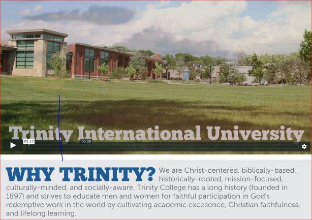 Trinity Interational U