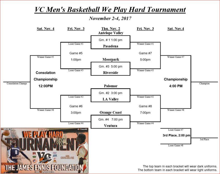 Ventura tournament scedule