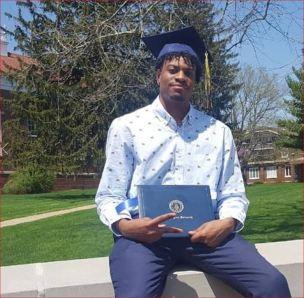 izaha graduation photo